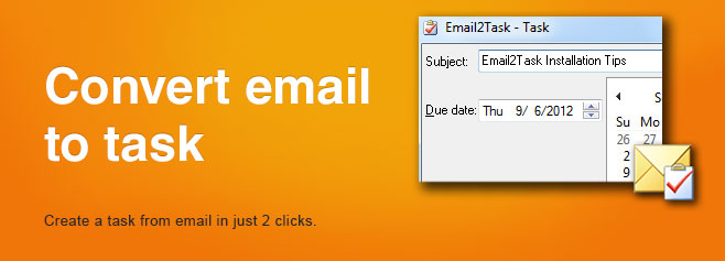 Create appointment from email